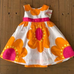 4/$20 Carters floral dress
